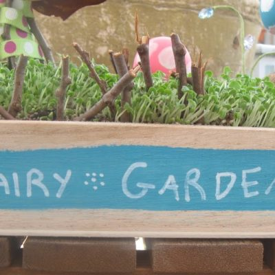 Gardening for the fairies….