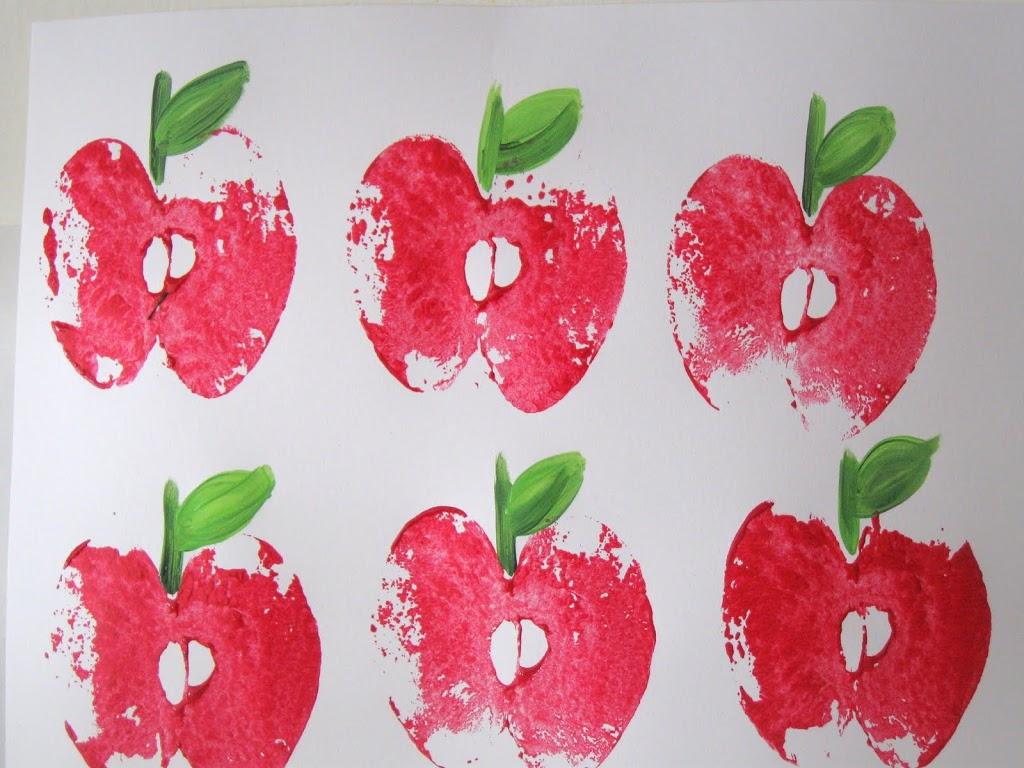 Apple Orchard Preschool Craft