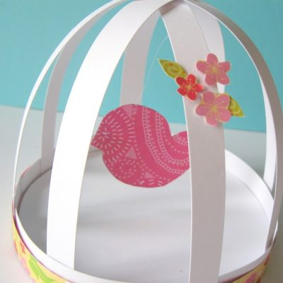 sweet spring bird cage…