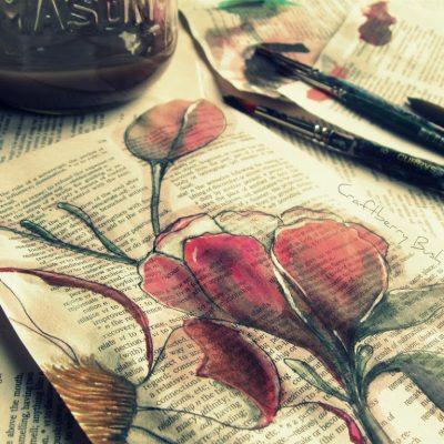 Paper Magnolia Tutorial….