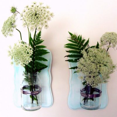 DIY mason jar vase or sconce, the choice is yours…