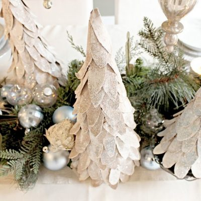 Cardboard Christmas Tree tutorial…