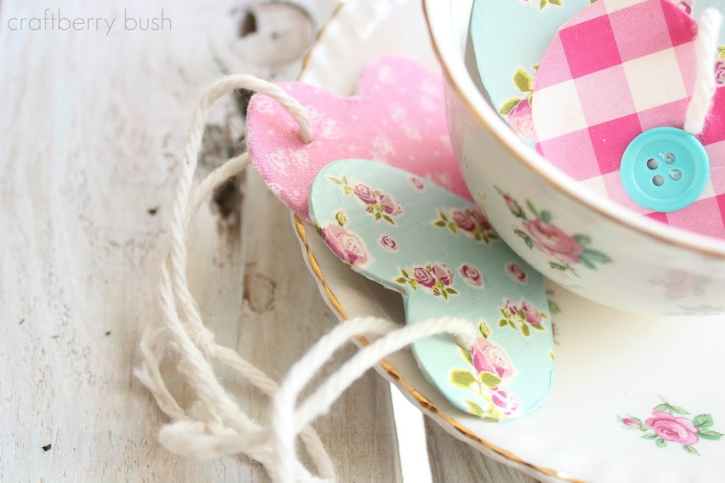 A heart for Shabby…easy Valentine ornament or gift tag