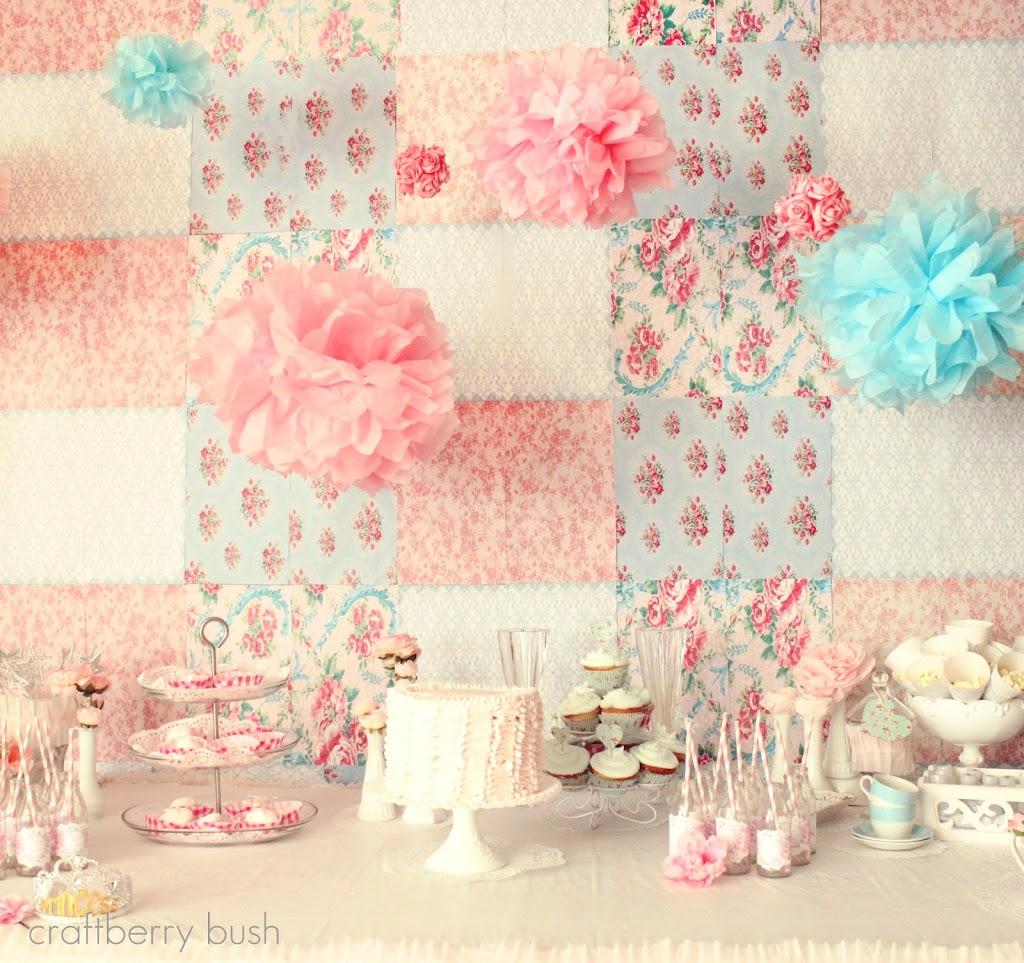 A Shabby Chic Princess Tea Party…