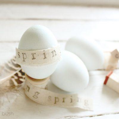 Tender blue…a natural Easter egg dye…