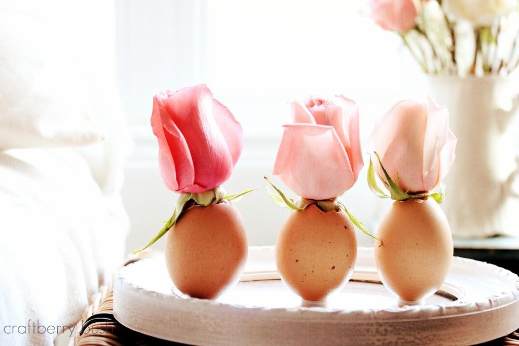 DIY Flower Vase: 32 Easter Egg Designs & Ideas For Homesteaders