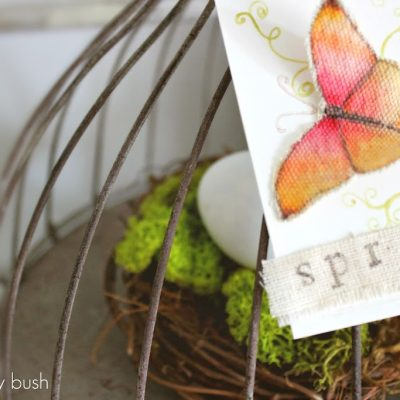 Spring muslin butterfly…an animated mini tutorial