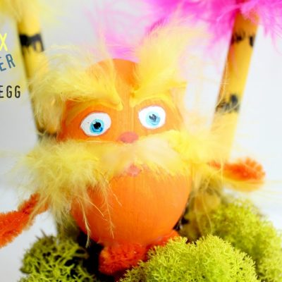 Just for fun …a Lorax Easter egg