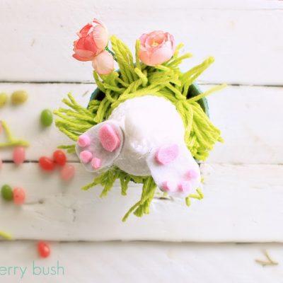 Mischievous little bunny….an Easter gift