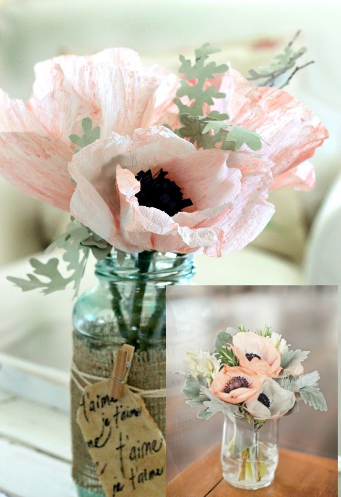 Crepe anemone flower tutorial it all started a while back when i saw the insert of the picture above a martha stewart arrangement featured on one of her wedding projects mightylinksfo