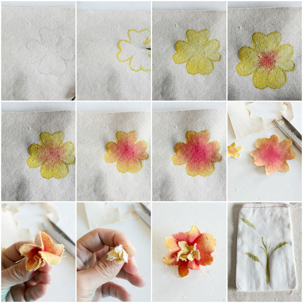 Canvas Flower Tutorialby Request