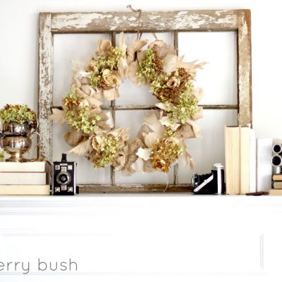 Transitional Mantel…late Summer
