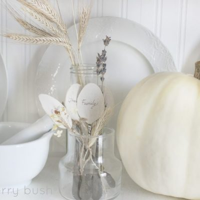 Fall at home…the hutch