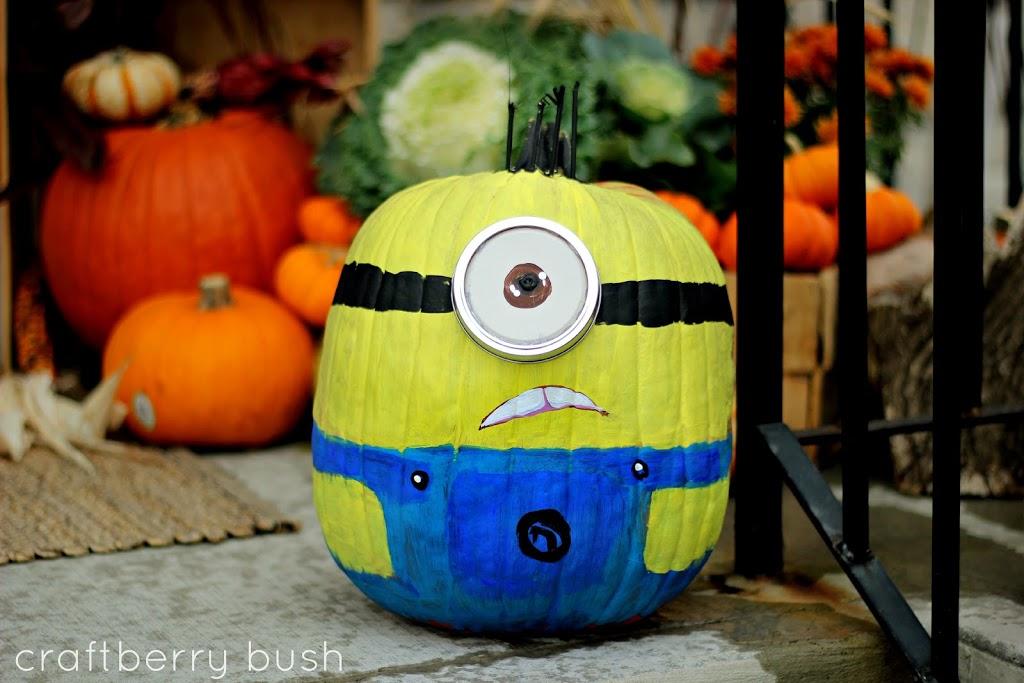 Painted Pumpkins Minions