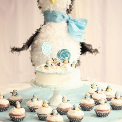 A little chilly…penguin cupcakes…