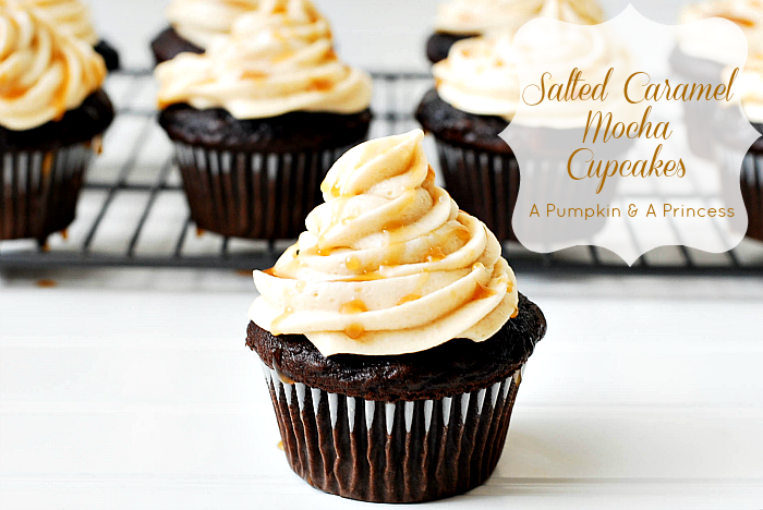 Salted-Caramel-Cupcake-Recipe from A Pumpkin and a Princess