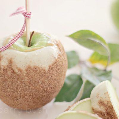 Gourmet caramel apples….