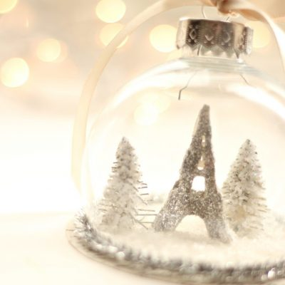 Paris….a Christmas ornament