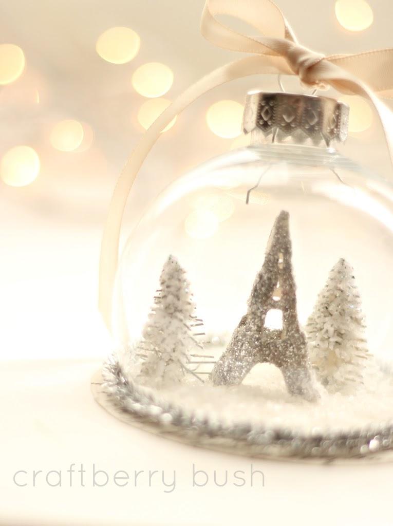 Paris….a Christmas ornament