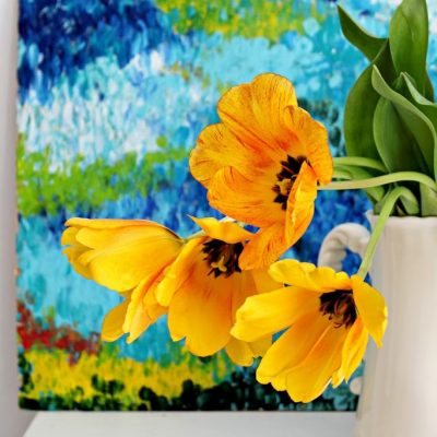 Bright and Cheery Abstract Art