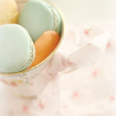 Hopes of Spring and French Macarons