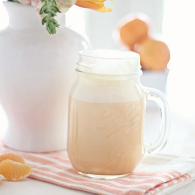 Healthy Mandarin Orange Cream Smoothie