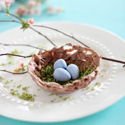 Chocolate Nest Bowl – a tutorial