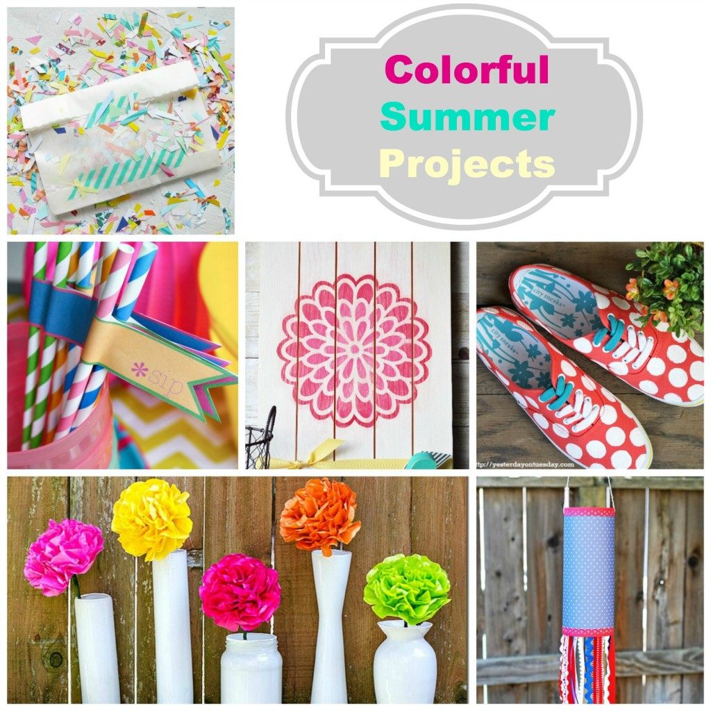 8 Colorful Summer Projects To Try