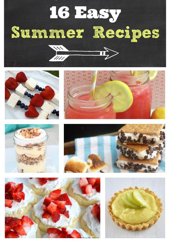 16 Easy Summer Recipes