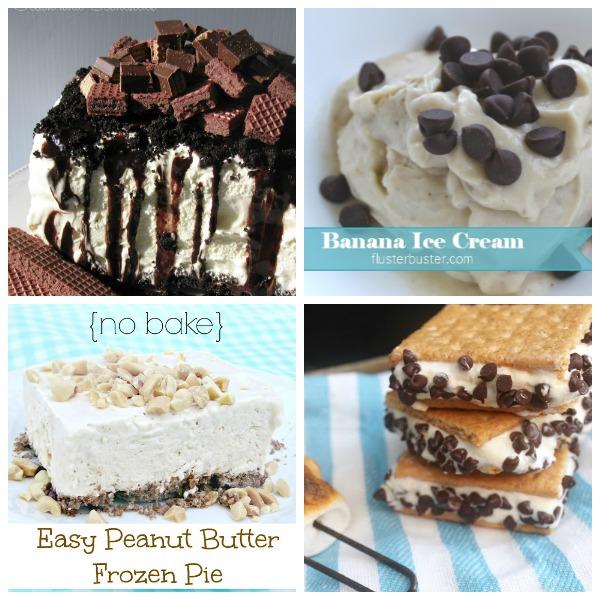 Summer Recipes_Ice Cream Collage