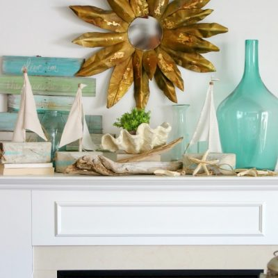 Summery Mantel – version 2.0