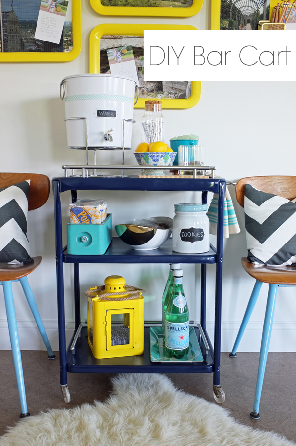 DIY-bar-cart-snack-cart