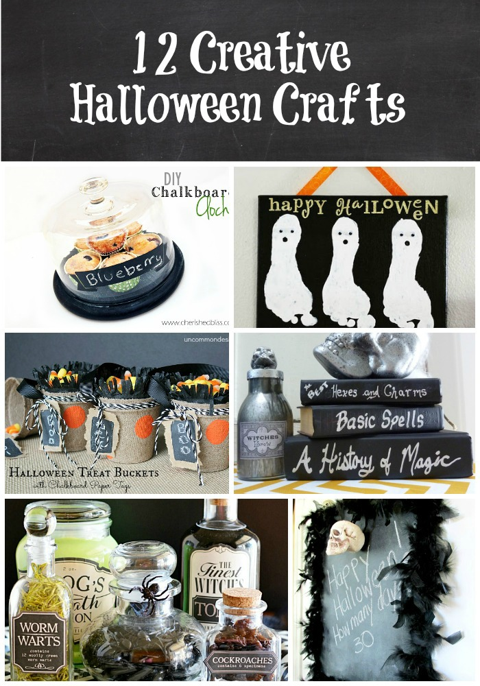 12 Creative Halloween Crafts- tons of great ideas!