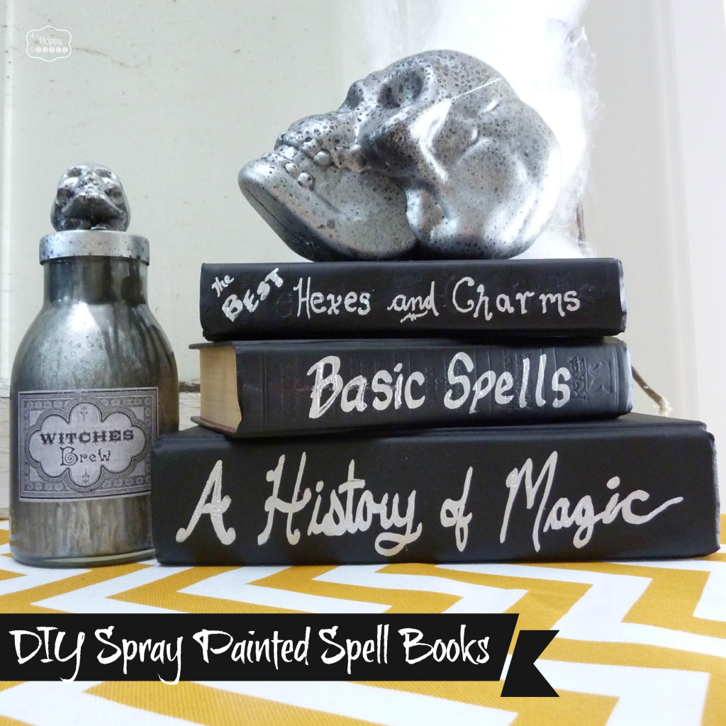 DIY-spray-painted-spell-books-at-thehappyhousie-1024x1024