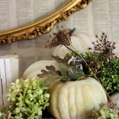 Seasons of the Home – Fall Mantel 2013