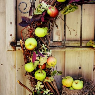Nature Inspired Autumn Wreath