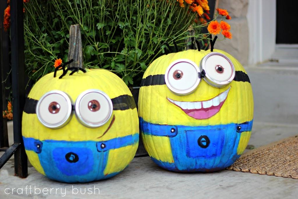 minion pumpkin tutorial rh craftberrybush com easy minion pumpkin painting minion pumpkin painting ideas