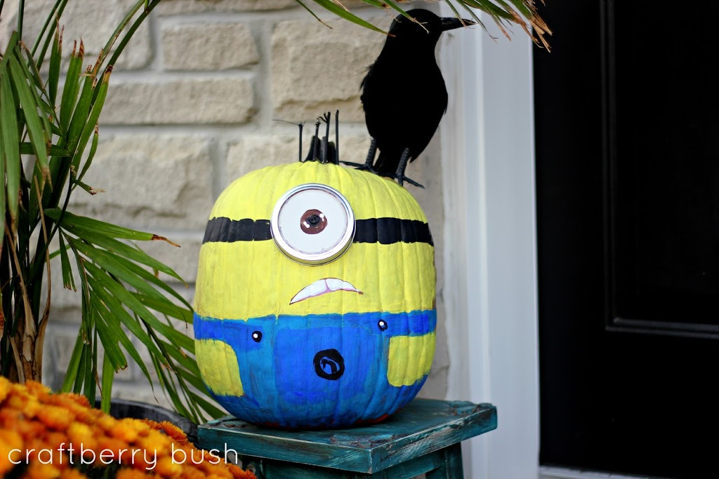 minion pumpkin tutorial rh craftberrybush com minion pumpkin painting tutorial minion pumpkin painting ideas