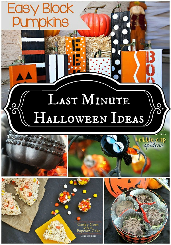 Last Minute Halloween Ideas 2