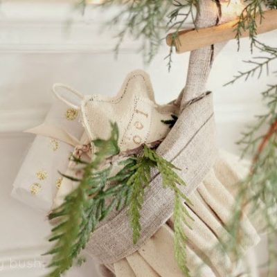 A Christmas Mantel