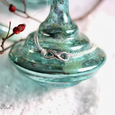 Infinity Chain Bracelet in Sterling Silver GIVEAWAY
