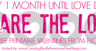 I love everything you 'dew' free Valentine's Day watercolor printables