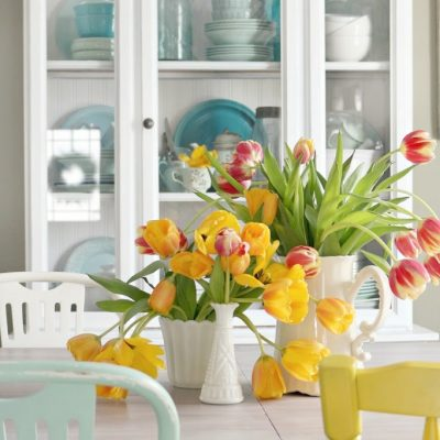 Refreshing the Hutch for Spring