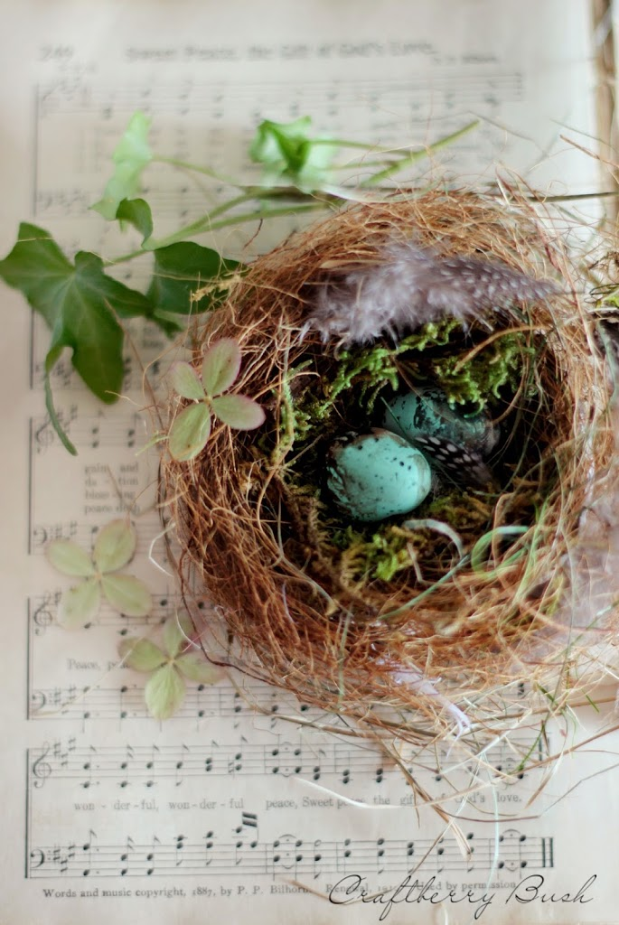 Making a Realistic Bird's Nest
