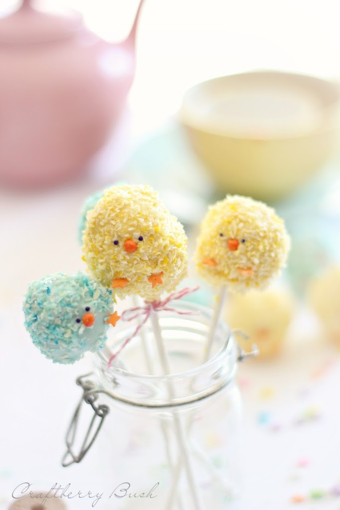 Chocolate Easter Chick Cakes Recipes