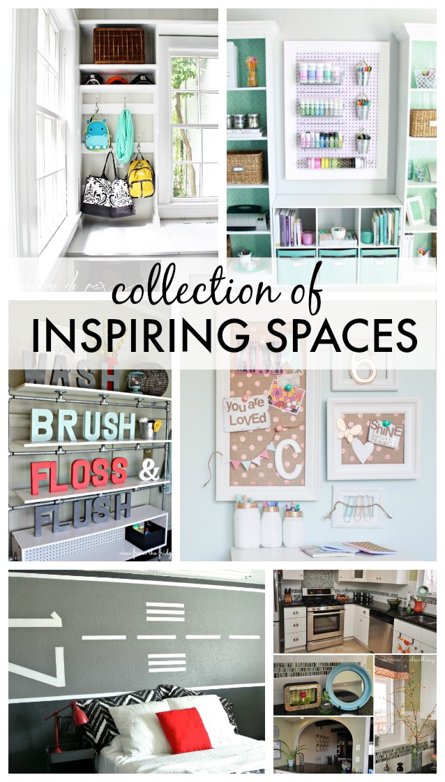 8 Inspiring Spaces - beautiful DIY projects and tutorials!
