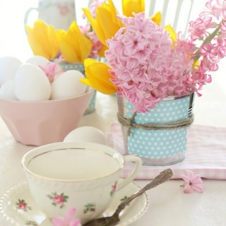 Easterbreakfasttablesettingcraftberrybush