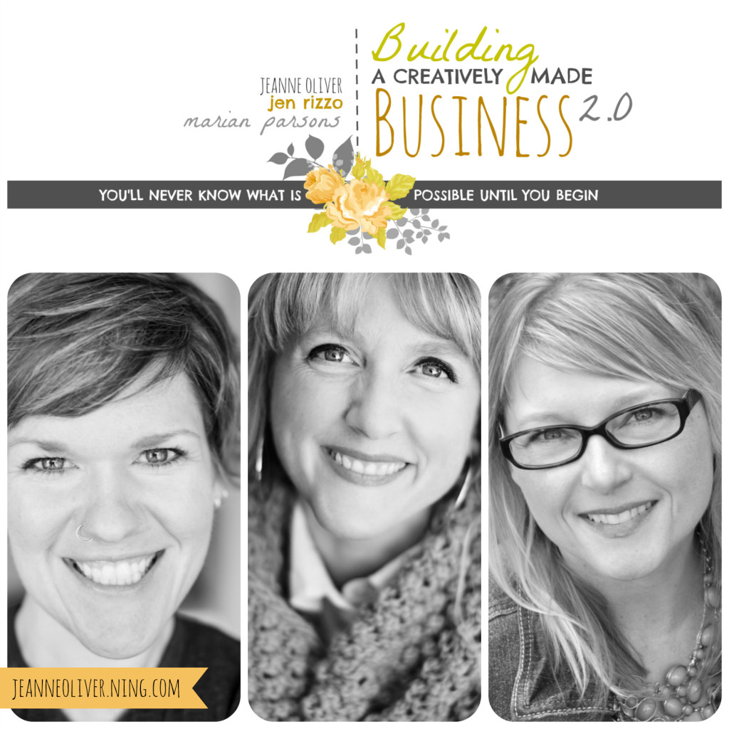 Building a creatively made business, A new e-course to help you grow your business.