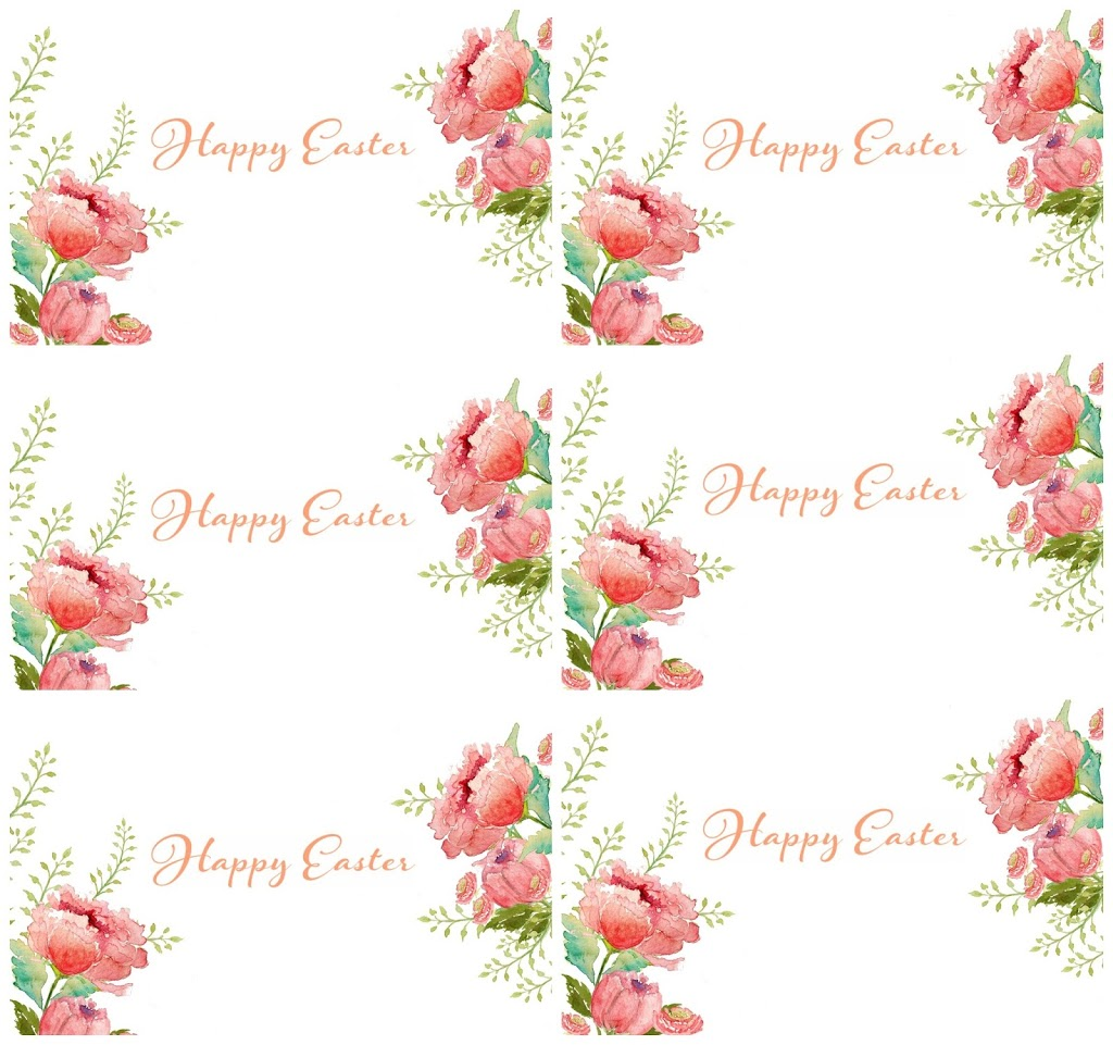 picture about Happy Easter Printable referred to as Absolutely free Watercolor Easter Printable