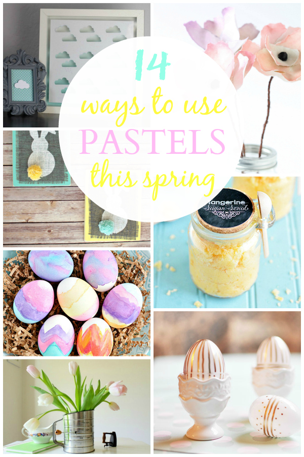 14 Ways to Use Pastels this Spring